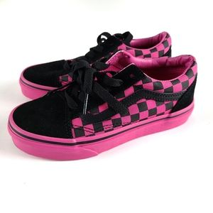 Vans Checkered Old Skool Shoes Girls Size 1